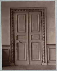Ashburnham House, Doorway part D0
